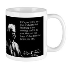 Mark Twain, Eating Frogs, Mug