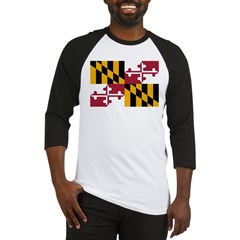 Maryland Flag Baseball Jersey
