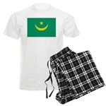 Mauritania Flag Men's Light Pajamas