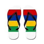Mauritius Flag Flip Flops