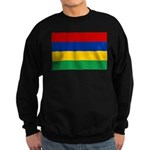 Mauritius Flag Sweatshirt (dark)