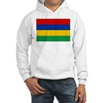 Mauritius Flag Hooded Sweatshirt