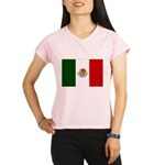 Mexico Flag Performance Dry T-Shirt