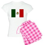 Mexico Flag Women's Light Pajamas