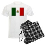 Mexico Flag Men's Light Pajamas