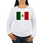 Mexico Flag Women's Long Sleeve T-Shirt