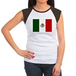 Mexico Flag Women's Cap Sleeve T-Shirt