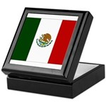 Mexico Flag Keepsake Box