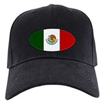 Mexico Flag Black Cap