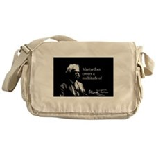 Mark Twain, Martyrdom, Messenger Bag