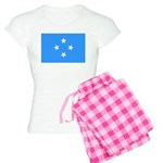 Micronesia Flag Women's Light Pajamas