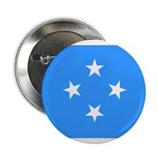 "Micronesia Flag 2.25"" Button"