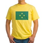 Micronesia Flag Yellow T-Shirt