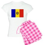 Moldova Flag Women's Light Pajamas