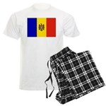 Moldova Flag Men's Light Pajamas