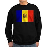 Moldova Flag Sweatshirt (dark)