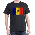 Moldova Flag Dark T-Shirt