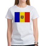 Moldova Flag Women's T-Shirt