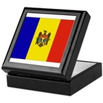Moldova Flag Keepsake Box