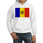 Moldova Flag Hooded Sweatshirt