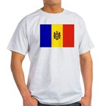 Moldova Flag Light T-Shirt