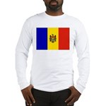 Moldova Flag Long Sleeve T-Shirt