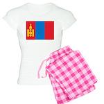 Mongolia Flag Women's Light Pajamas