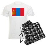 Mongolia Flag Men's Light Pajamas