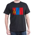 Mongolia Flag Dark T-Shirt