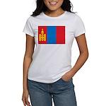 Mongolia Flag Women's T-Shirt