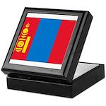 Mongolia Flag Keepsake Box