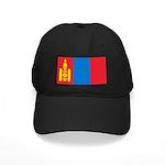 Mongolia Flag Black Cap