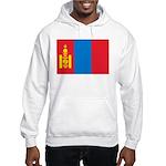 Mongolia Flag Hooded Sweatshirt
