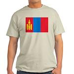 Mongolia Flag Light T-Shirt