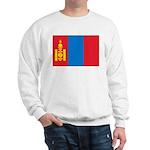 Mongolia Flag Sweatshirt