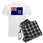 Montserrat Flag Men's Light Pajamas