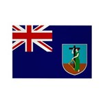 Montserrat Flag Rectangle Magnet (100 pack)