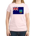 Montserrat Flag Women's Light T-Shirt