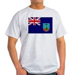 Montserrat Flag Light T-Shirt