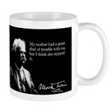 Mark Twain, My Mother, Small Mug