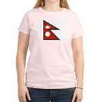 Nepal Flag Women's Light T-Shirt