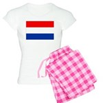 Netherlands Flag Women's Light Pajamas