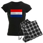 Netherlands Flag Women's Dark Pajamas
