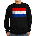 Netherlands Flag Sweatshirt (dark)