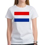Netherlands Flag Women's T-Shirt