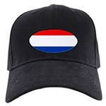 Netherlands Flag Black Cap