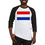 Netherlands Flag Baseball Jersey