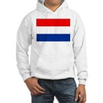 Netherlands Flag Hooded Sweatshirt