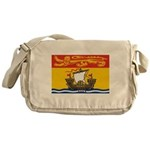 New Brunswick Flag Messenger Bag