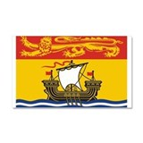 New Brunswick Flag Car Magnet 20 x 12